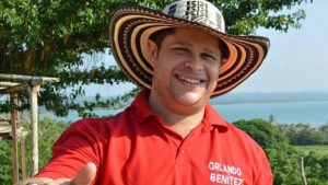 Orlando Benitez- Gobernador de Córdoba