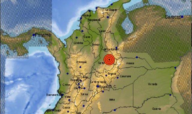TIEMBLA EN COLOMBIA