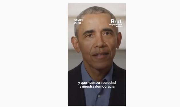 Llamado a la juventud a reconstruir américa- Barak Obama