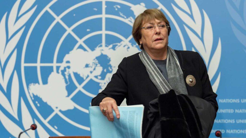 Alta Comisionada para los Derechos Humanos de la ONU, Michelle Bachelet